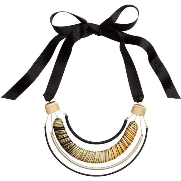 H&M Statement Necklace with Metal Pendant